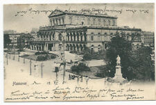 Alte AK Postkarte Deutschland Hannover 1901 gelaufen  mit Briefmarke