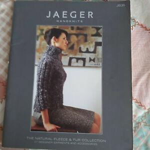 Knitting & Crochet book - Jaeger JB36 - 17 designs inc garments & accessories