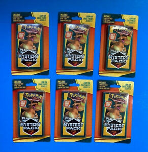(Lot Of 6) Walgreens Pokemon Mystery Pack. Chase Pack 1:5 Factory Sealed, 2021!