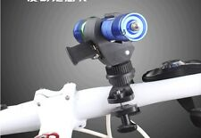 360 Degree Bicycle Mount Bike Flashlight Holder Torch Multi-function Clip Clamp