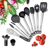 Kitchen Tool Set 9PCS Cooking Spoon Soup Eggbeater Kitchenware Tool Cookware