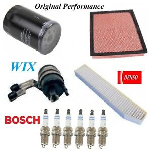 Tune Up Kit Filters Spark Plug For JEEP GRAND CHEROKEE L6; 4.0L 2002-2003