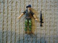 Vintage GI Joe Recondo (V2) 1988 Tiger Fly Pilot Hasbro Action Figure w/Gun