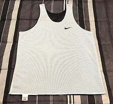 VTG 90s Nike Air Swoosh Reversible Tank Top Basketball Workout Jersey Shirt - L