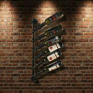 Support à vin suspendu en métal Ikayaa sur une bouteille de vin...