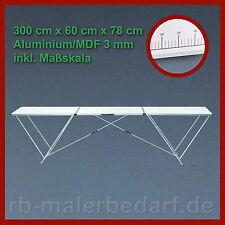 Aluminium Tapeziertisch Arbeitstisch Mehrzwecktisch Klapptisch 300 x 60 x 78 mm