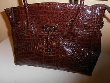 NEW YORK COMPANY PURSE DARK BROWN NICE & CHEAP!