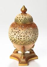 A Royal Worcester Pierced Pot Pourri Vase With Cover c.1906 - Antique Edwardian