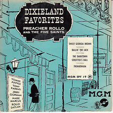 "45 T EP DIXIELAND FAVORITES ""SWEET GEORGIA BROWN"""