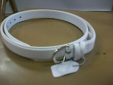 New Women's All White Belt Size 2X-Large Brand New!