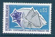 TIMBRE 1788 NEUF XX LUXE - GENTIANE ET GLACIER - 100 ANS DU CLUB ALPIN FRANCAIS