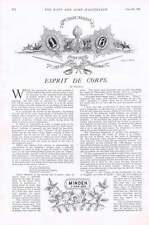 1901 Our Railways In War Time Meaning Of Esprit De Corps