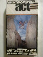 Balancing Act 2 VHS Geoff Aaron motorcycle dirt bike trick riding insane biking