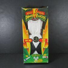 Saban - Vintage Zack Power Ranger / White & Black Talking Gloves (Original Box)