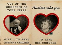 Austria Asks You to Save Her Children 1940s Brochure Church of St Nikola
