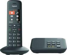 Gigaset C570A Schwarz Festnetz-Telefon schnurlos DECT Anrufbeantworter