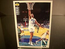 Parallel Dell Curry Upper Deck 1994 Card #30 Charlotte Hornets Silver Signature