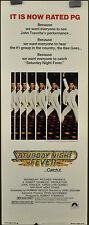 SATURDAY NIGHT FEVER 1977 14X36 MOVIE POSTER JOHN TRAVOLTA,KAREN LYNN GORNEY