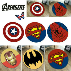 Superhero Carpet Non Slip Floor Rug Avengers Mat Bedroom Marvel Pad Home Decor