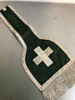 Étole de Prêtre Religieux Vêtements Liturgique Ancien Habit Écharpe 3