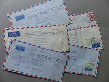 AFGHANISTAN 6 Luftpostbriefe Kabul - München Germany