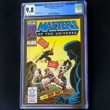 Masters of the Universe #7 (1987) 💥 CGC 9.8 WHITE PGs 💥 He-Man Marvel Comic