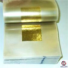 24ct Gold Leaf 100% Genuine 10 sheets