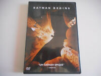 DVD - BATMAN BEGINS - ZONE 2