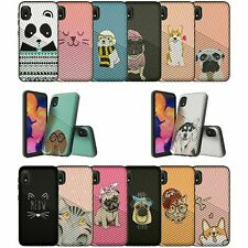 For Samsung Galaxy A10e / A20e Embossed Texture Protective Case - Pet Designs
