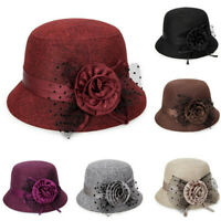 Women's Spring And Summer New Fashion Linen Sunshade Hat Ladies Sun Hat New