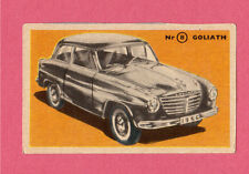 Goliath Vintage 1950s Car Collector Card from Sweden