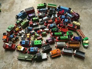 Learning Curve Thomas Friends Train Collection Lot Metal Die Cast Wooden Minis