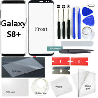 For Samsung Galaxy S8+ Plus Lens Screen OEM Front Glass Replacement Tool Kit OCA
