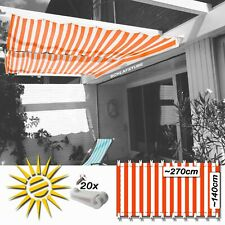 Wintergarten Sonnensegel Sonnenschutz Stoff Cremeweiß Meterware 230 cm Breit
