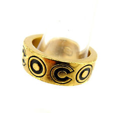 CHANEL Ring Coco Marco unisex Authentic Used Y1332