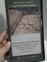 Great Authors of Western Literary Tradition 2nd Edition Part 5 Great Courses DVD