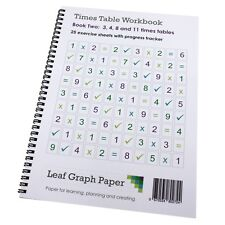 Times Table Workbook Ks2 3 4 8 and 11 Tables Mix (ages 6 to 9) Book 2