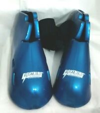 Lightning Proforce Protective Foot Pad Gear Karate Boxing Blue Size 11/12 Pair