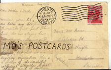 Genealogy Postcard - Inman - Palatine Road - Withington - Manchester - Ref 9305A