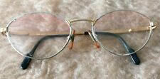 Tiffany Lunettes Ochailli T418 23K Gold Plaque Prescription Glasses 135 54 18