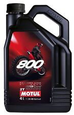 MOTUL 800 2t Factory Line 100 Synthetic off Road Racing Engine Oil 4 Litres