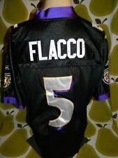 Baltimore Ravens sewn onfield authentic football jersey Joe Flacco Reebok men 50
