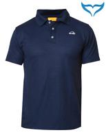 iQ UV 50+ Polo Shirt Outdoor Men Herren M - 4XL navy blau Schutz Bekleidung Neu