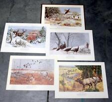 Remington Arms Co. Portfolio - Wildlife and the Outdoorsman - 4 prints