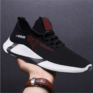 Fashion Men's shoes Breathable Outdoors Casual sports Running Athletic Shoes
