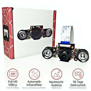 Electreeks ® Raspberry Pi Kamera Infrarot Nachtsicht | Nightvision Camera Module