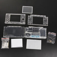 Replacement Case For Nintendo DS Lite Housing Shell Screen Lens Crystal Clear #Y