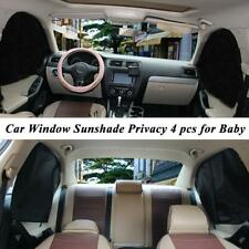 4pcs Magnetic Car  Window sunshade UV Protection Curtain Cover Accessories