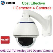 HD AHD CVI TVI Analog 360 degree Wide Angle Dome Camera Outdoor Water-proof IP66
