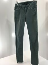 Miss Me Womens Stretch Colored Denim Skinny Jeans Turkish Blue Size 28 Preowned=